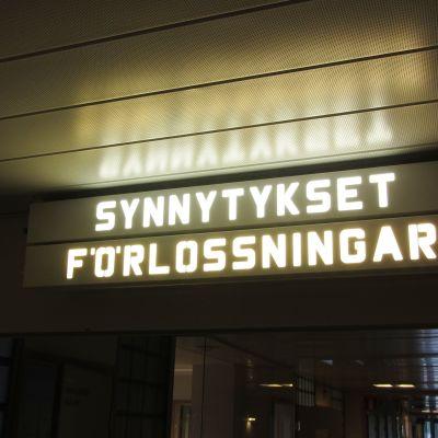 Förlossningsavdelningen vid Borgå sjukhus.