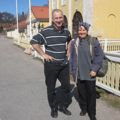 Siv Österberg och Christian  Albouy