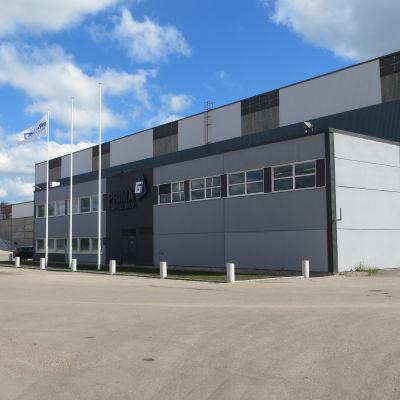 Kontoret i Tolkis hamn