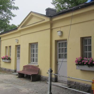 Gamla parkeringshuset under renovering