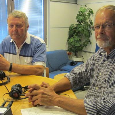 Ingmar Nyberg och Stig-Henrik Wikström