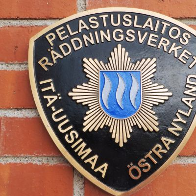 Logo för Räddningsverket i Östra Nyland