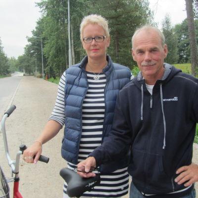Jeanette Kuiru och Ulf Heimberg