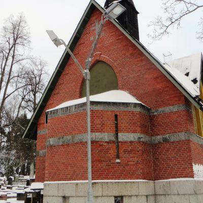 Näsebackens begravningskapell i Borgå