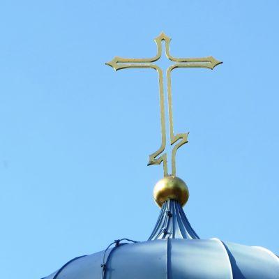 Kors på Borgå ortodoxa kyrka
