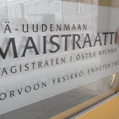 Magistraten i Östra Nyland, enheten i Borgå.