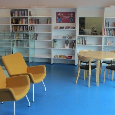 Sittgrupper i Ingå bibliotek