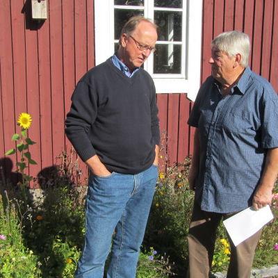 Thomas Rosenberg och Jan-Erik Slätis