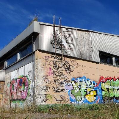 Gammal industrihall i Borgå