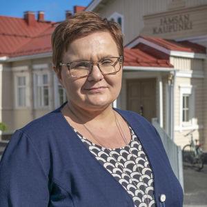 Jämsän kaupunginjohtaja Hanna Helaste.