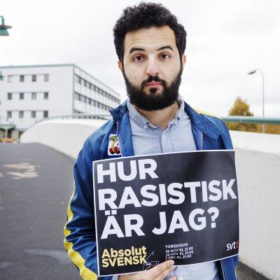Soran Ismail är programledare för serien Absolut svensk
