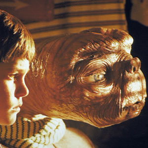 Steven Spielbergin elokuva E.T.