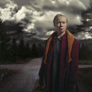 Kuva Rovaniemen Teatterin Neljäntienristeys -näytelmästä