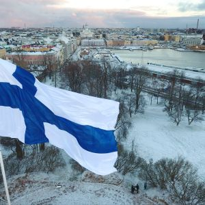 Finlands flagga