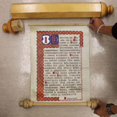 Tornion joulurauhan pergamentti
