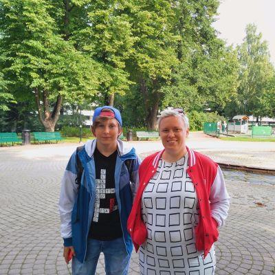 Alex Westerlund och Jonna Ahti.