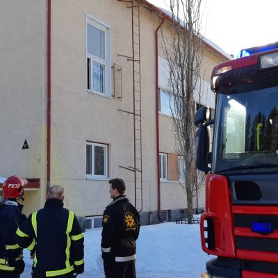 Viinijärven Asematien kerrostalossa syttyi jo toinen huoneistopalo kahden päivän sisällä.