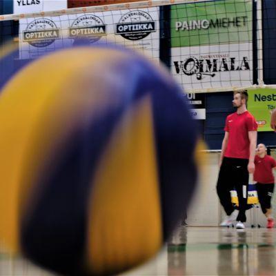 Oulun Ettan treenit urheilutalolla ennen vuoden 2019 finaalipelejä.