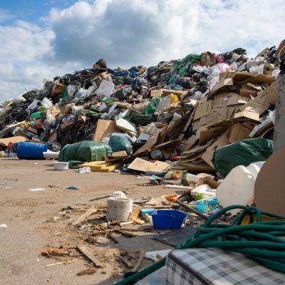 Roskavuori kaatopaikalla