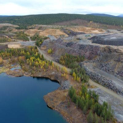 Hannukaisen kaivosalue Kolarissa