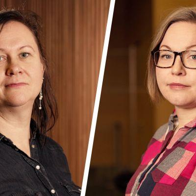 Sari Äkäslompolo ja Reeta Vähämäki