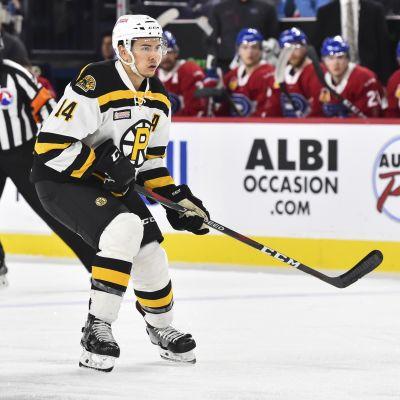 Stuart Percy AHL-seura Providence Bruinsin paidassa kaudella 2019