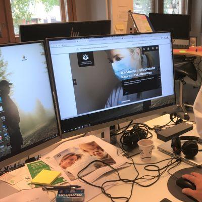 Itä-Suomen yliopisto on antanut suosituksen, että henkilöstö ja opiskelijat käyttävät kasvomaskia tietyissä tilanteissa.