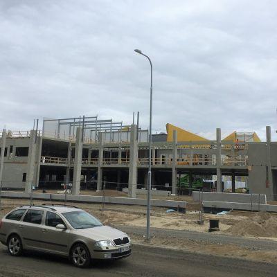 Liperin kunnan uusi yläkoulu nousee Jyrin uudelle asuinalueelle Ylämyllyn kupeeseen.