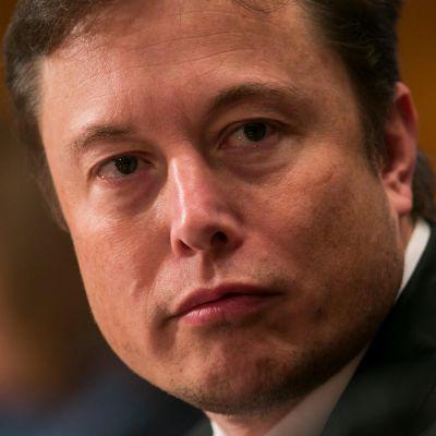 Kuvassa Elon Musk.