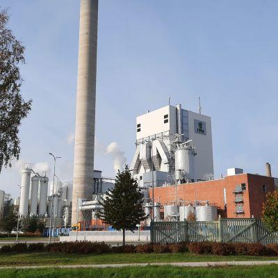 UPM:s fabrik i Jakobstad.