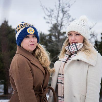 Mari Saari ja Emilia Saloranta.
