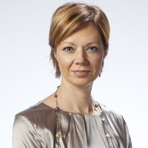 Svenska Yles direktör Marit af Björkesten.