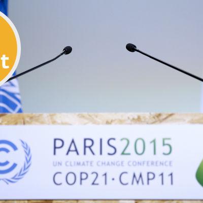 klimattoppmötet i Paris är i full gång