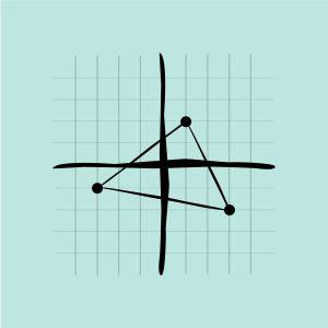 "Piirroskuva ""analyyttinen geometria""."