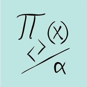 """Piirroskuva """"matemaattisia malleja""""."""