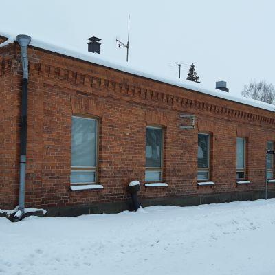 Rakennus 12 Lappeenrannan Rakuunamäellä.