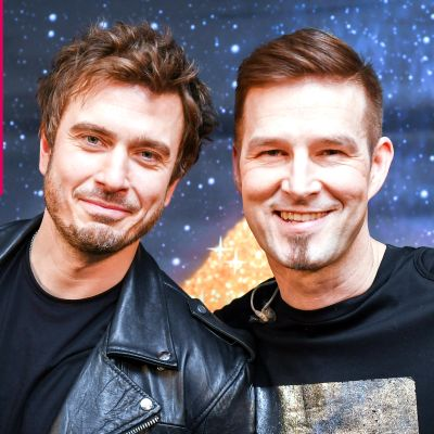 Sebastian Rejman och Darude.