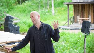 Marco Bjurström är styrelseordförande för StepUp School.