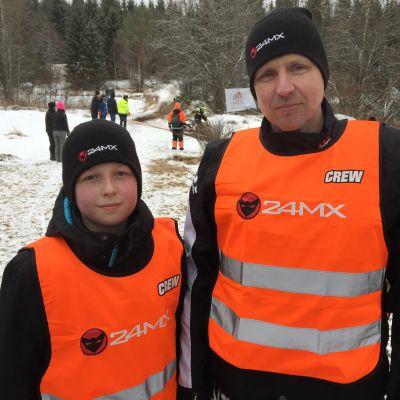 Mika ja Juho Joutsjoki