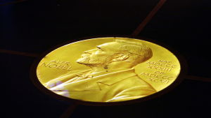 Nobelprismedalj.