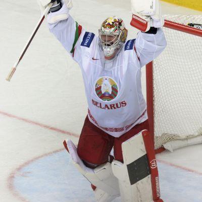 Kevin Lalande var en av Vitrysslands nyckelspelare.