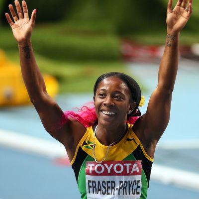 Fraser-Prycestä tuli Moskovan MM-kisojen tuplavoittaja.