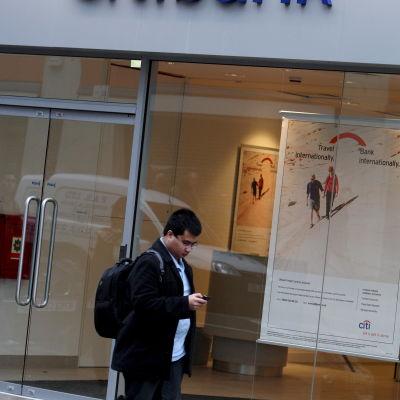 Citibanks kontor i London.