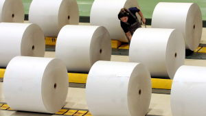 Stora Ensos pappersfabrik i Eilenburg