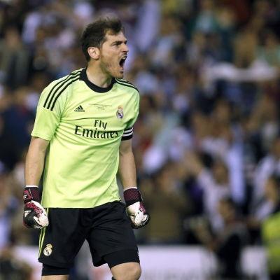 Iker Casillas, Real Madrid.