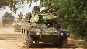 fransk trupper i Mali