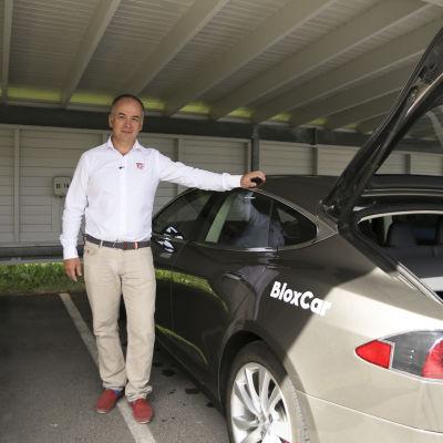 Paul Nyberg Shareit Bloxcar Toimitus johtaja