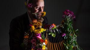 Den finska folkmusikern Antti Paalanen.