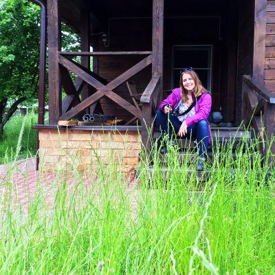 Claudia Rybin vloggar från Sankt Petersburg,