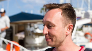 Den ryska turisten Andrej från Novokuznetsk på semester i Sousse